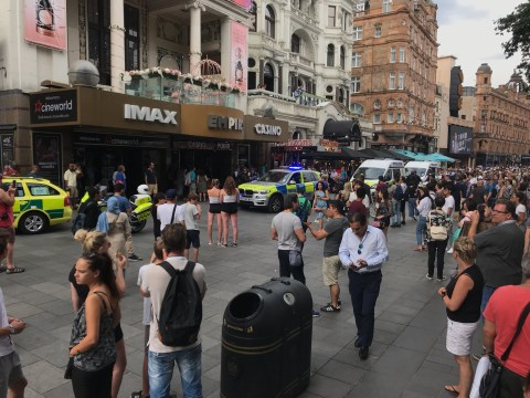 One man arrested after man 'in his thirties' stabbed in Leicester Square