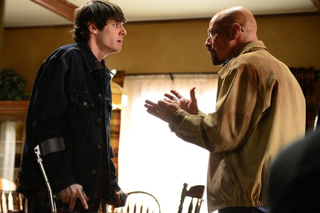 Breaking Bad's RJ Mitte wanted Walt Jr to be 'bludgeoned to death' Credit: Ursula Coyote/AMC