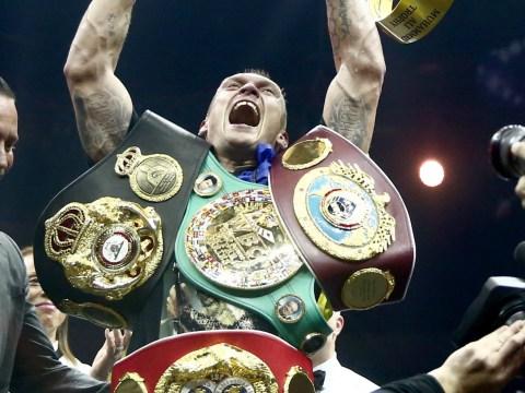 Oleksandr Usyk can beat Anthony Joshua, says Prince Naseem Hamed