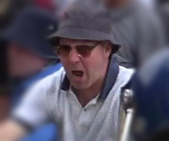 People wanted over Tommy Robinson violence METRO GRAB taken from: http://news.met.police.uk/latest_media Credit: Met Police