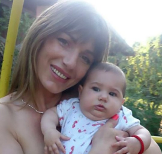 """Pic shows: Tanja Lakic Mahud, the mother holding her baby; A drug-addict mother has been sentenced to 15 years behind bars for killing her eight-month-old daughter by giving her the heroine substitute methadone to stop her crying. The shocking incident occurred in the Serbian capital Belgrade. The Appellate court of Belgrade found that Tanja Lakic Mahud had given her eight-month-old daughter Anja a large amount of methadone to stop her from crying. Mahud was later found unconscious in her home by a family member identified only by the initials L.L., who then discovered Anja???s body on the balcony covered in plastic bags. The incident happened in September 2015 and Mahud has now been convicted of murder. Mahud reportedly told the court she """"gave her methadone because she was crying"""" adding """"that doesn???t mean I wanted to kill her. I am a good mother."""" The woman had previously tried to claim her baby died from poisoning after breastfeeding as she is a drug addict. Neitzen ???Marko??? commented: """"I would give her 115 years."""" While ???Kale??? added """"She should get a higher dose for herself so she could terminate her miserable life."""" Methadone is an opioid used to treat pain and for people fighting opioid dependence."""