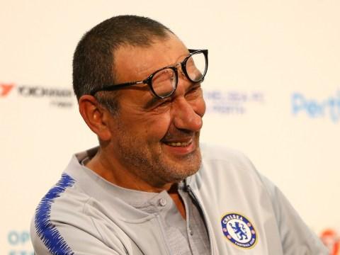 New Chelsea boss Maurizio Sarri relaxes Antonio Conte's training ground rules