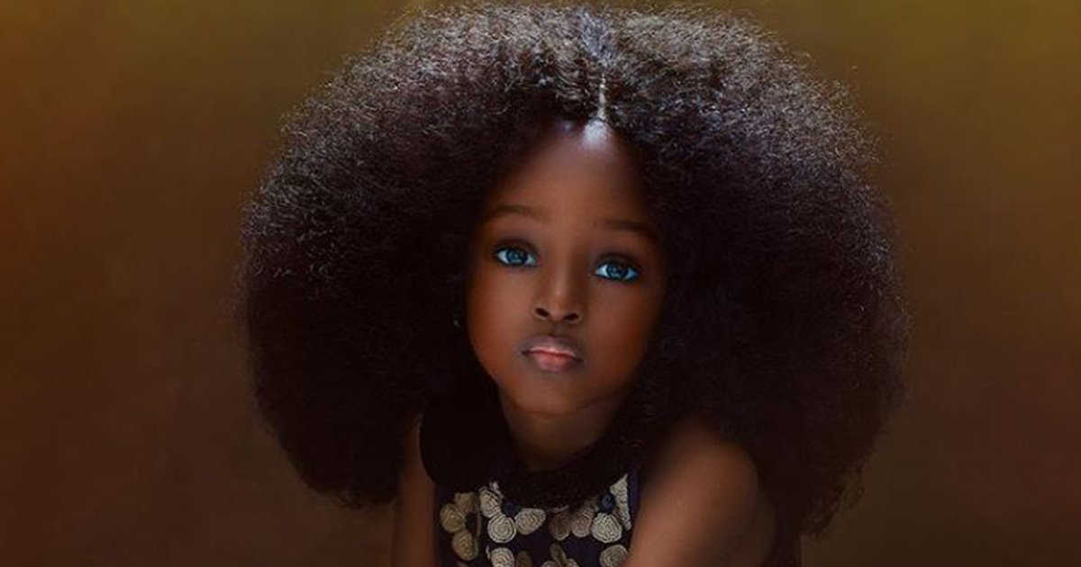 Photo of girl, 5, dubbed 'most beautiful in the world' slammed as 'child abuse'