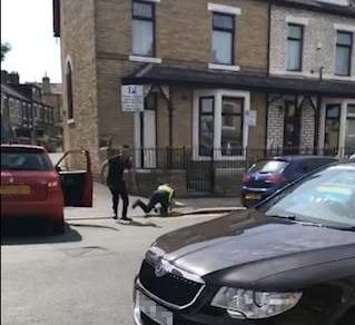 Thug punches policeman, rams his car and speeds off Dave Rudge News