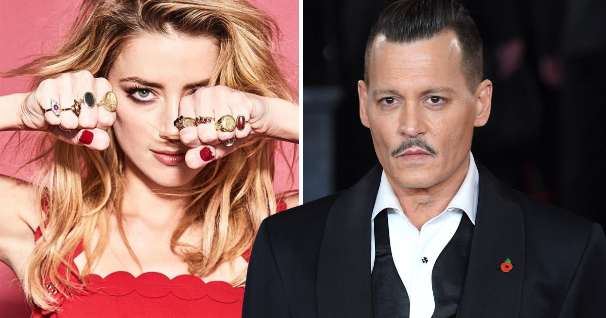 People seem to think Amber Heard has just savagely shaded ex Johnny Depp