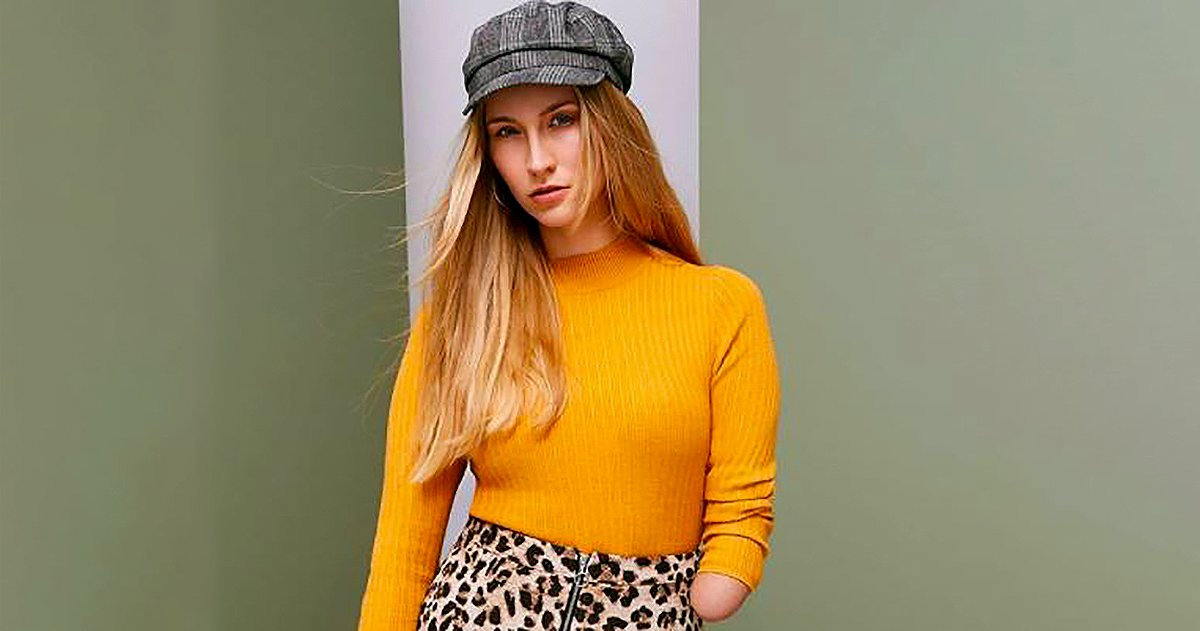 People are praising Primark for using an amputee model on their Instagram picture: PRIMARK INSTAGRAM METROGRAB REF: https://www.instagram.com/p/BlntZIuHRSL/?taken-by=primark MUST LINK BACK TO INSTAGRAM ACCOUNT AND EMBED IN ARTICLE