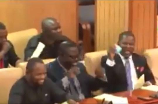 Picture: UTV Ghana MPs giggle over rude village name