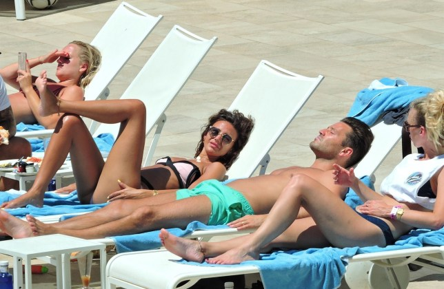 BGUK_1300190 - *PREMIUM-EXCLUSIVE* ** RIGHTS: ONLY UNITED KINGDOM ** MALLORCA, SPAIN - *MUST CALL FOR PRICING* *STRICTLY NO WEB USE UNTIL FURTHER NOTICE* Mark Wright and Michelle Keegan enjoy a summer break by the pool with friends in Mallorca Pictured: Mark Wright, Michelle Keegan BACKGRID UK 28 JULY 2018 BYLINE MUST READ: LAGENCIA GROSBY / BACKGRID UK: +44 208 344 2007 / uksales@backgrid.com USA: +1 310 798 9111 / usasales@backgrid.com *UK Clients - Pictures Containing Children Please Pixelate Face Prior To Publication*