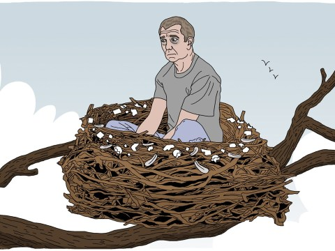 Yes, dads can experience empty nest syndrome too