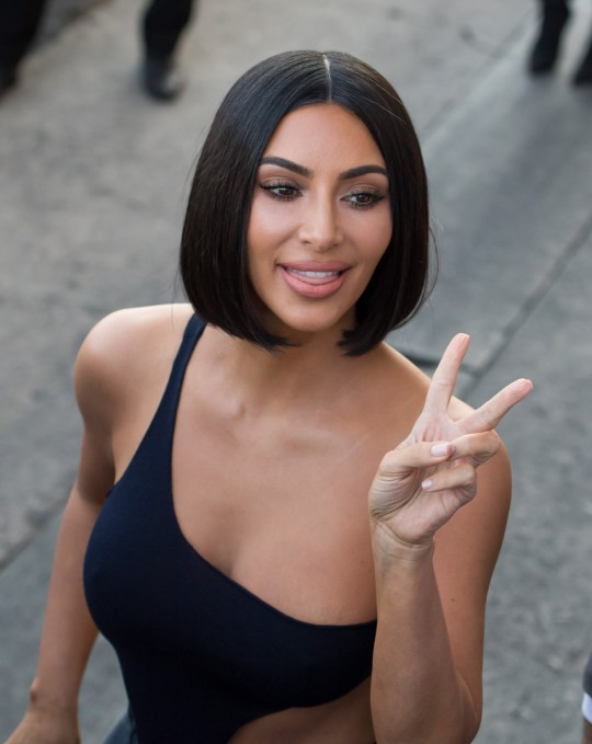 LOS ANGELES, CA - JULY 30: Kim Kardashian is seen at 'Jimmy Kimmel Live' on July 30, 2018 in Los Angeles, California. (Photo by RB/Bauer-Griffin/GC Images)