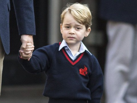 Prince George heads back to school for his first day in year one – but don't expect any photos
