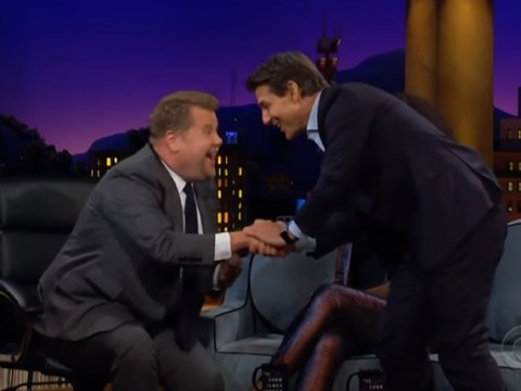 Tom Cruise dares James Corden to sky dive after he mocks Mission Impossible stunts