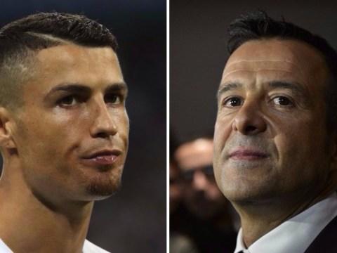 Cristiano Ronaldo's agent Jorge Mendes hints at Juventus transfer move