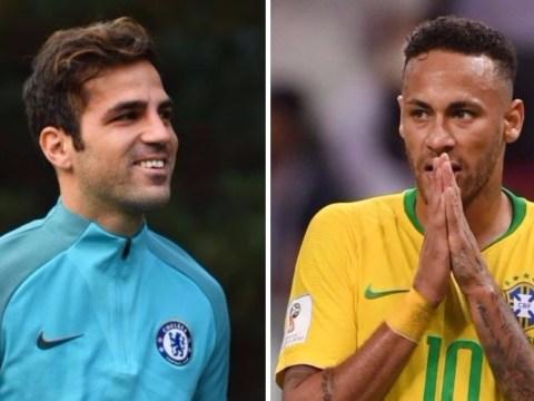 Cesc Fabregas throws shade at Neymar after Eden Hazard masterclass for Belgium
