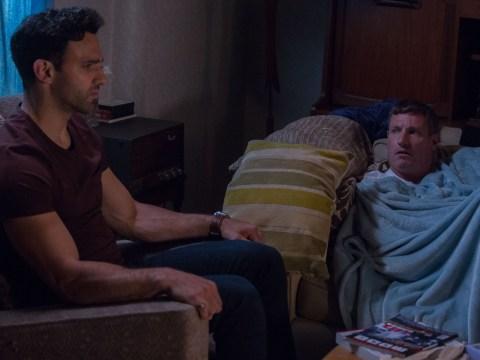 EastEnders spoilers: Robbie realises that Kush is in pain over Shakil