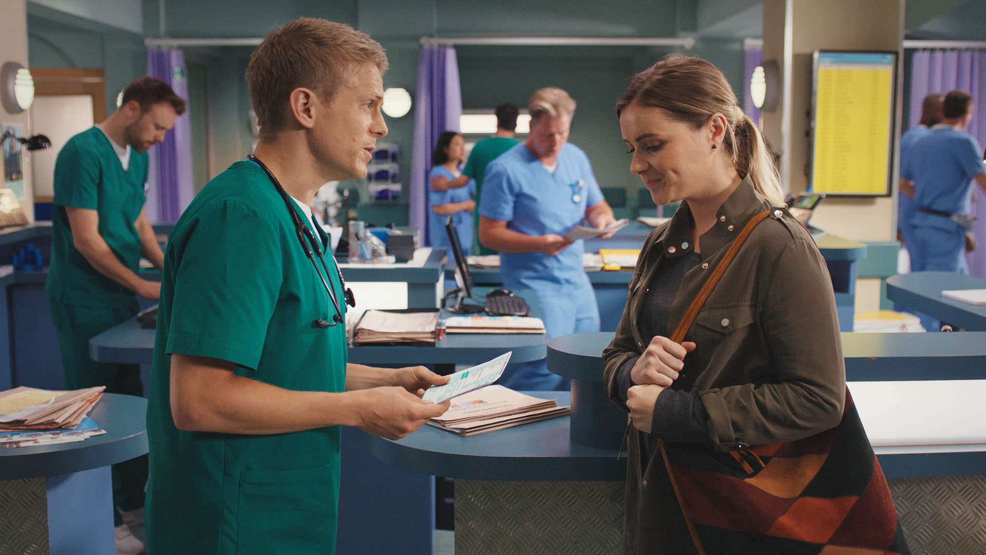 Casualty spoilers: Is a reunion for Alicia and Ethan on the cards?