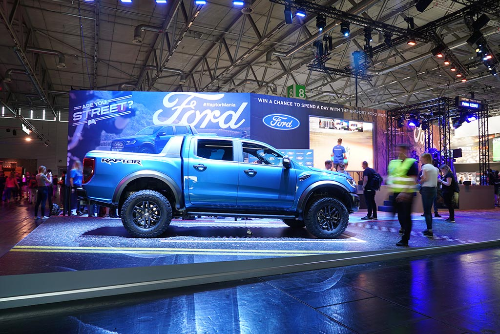 Ford Raptor becomes first car unveiled at Gamescom