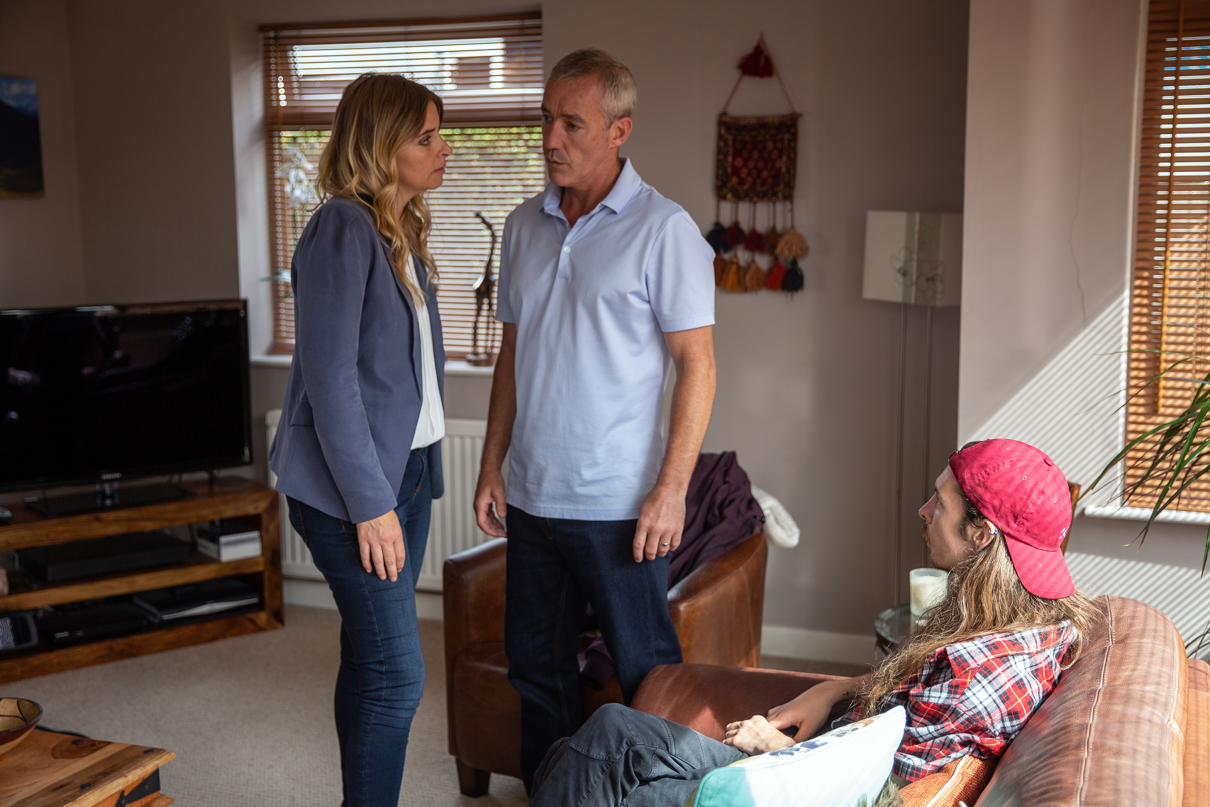 CHarity confronts Bails in Emmerdale