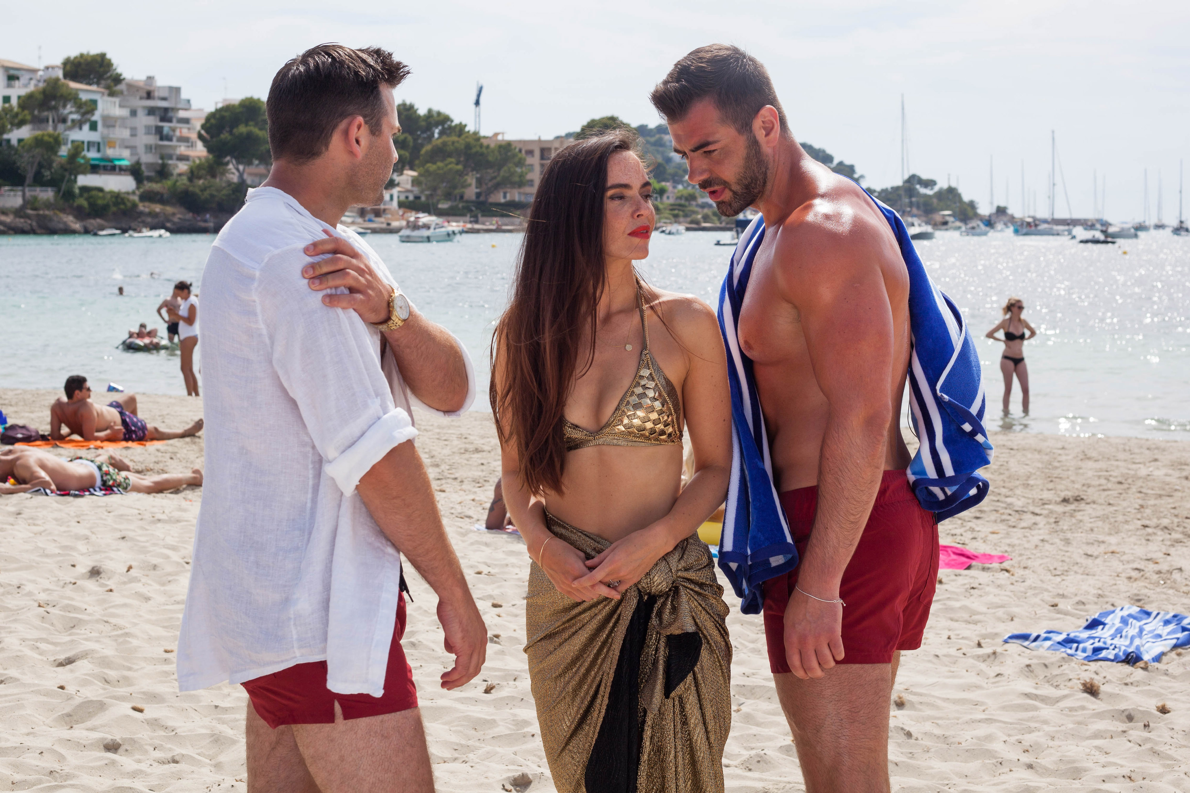 Hollyoaks spoilers: Mercedes and Sylver McQueen kiss after a Magaluf wedding disaster