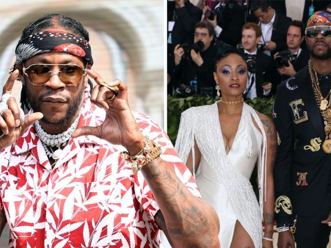 2 Chainz Miami wedding is a real A-List affair as he 'splashes out $300K' on getting hitched at the Versace Mansion with a white tiger in tow