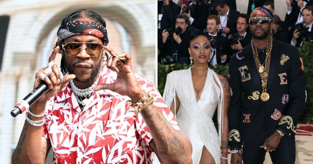 2 Chainz has gone wild and 'splashed $300K' on his wedding in Miami - which equals a lavish venue and banging party and a white tiger