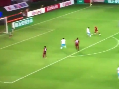 Andres Iniesta combines with Lukas Podolski to score outrageous opening goal for Vissel Kobe