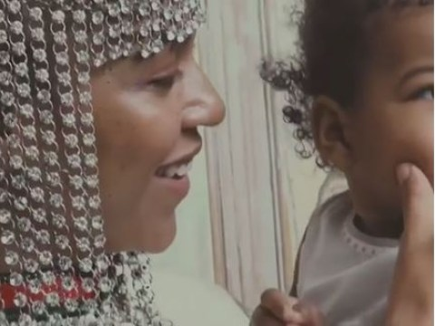 Beyonce shares touching behind the scenes video of twins Rumi and Sir from Vogue photoshoot