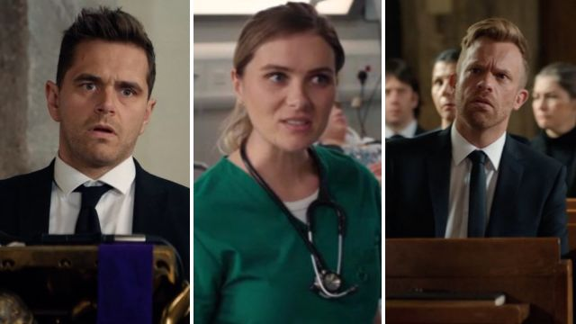 7 Casualty spoilers: Sam's funeral, Iain's tribunal and more