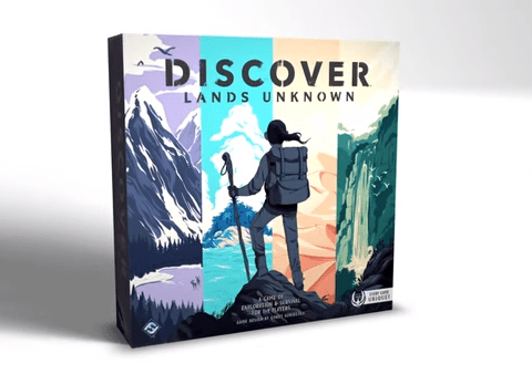 Fantasy Flight announces Discover: Lands Unknown where every copy of the game is different
