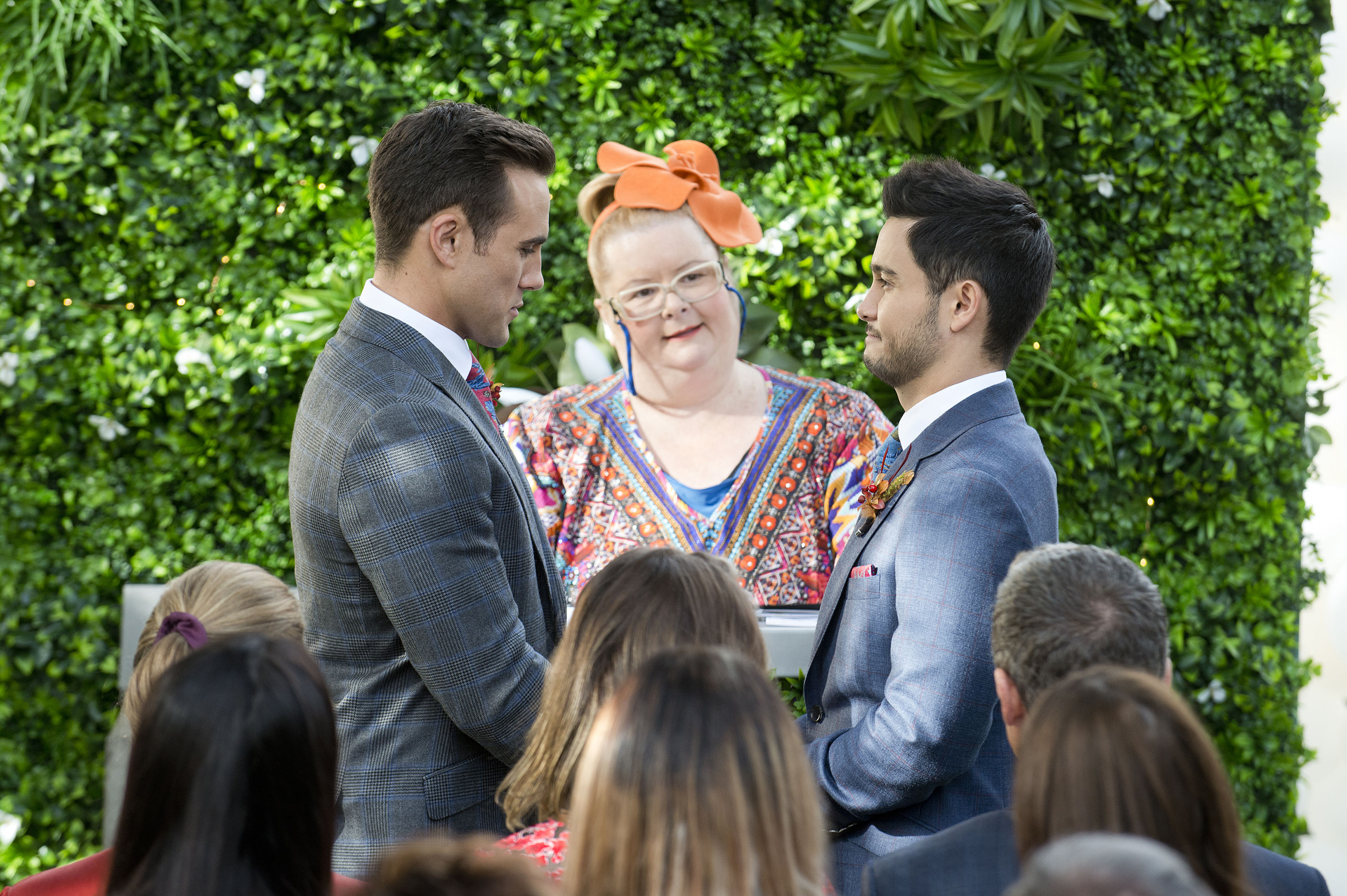 Neighbours stars reveal 'pride' at working on Australia's first TV gay wedding