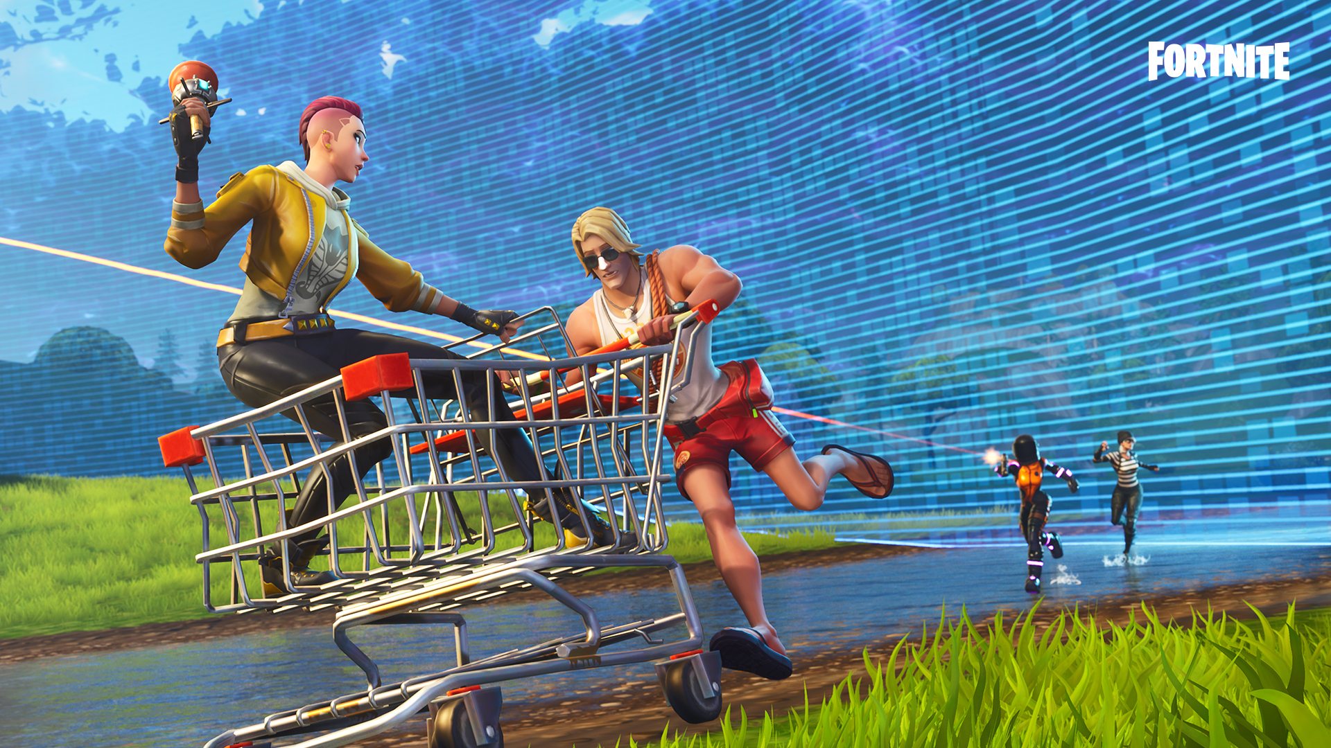 Where are the flaming hoops locations in Fortnite?