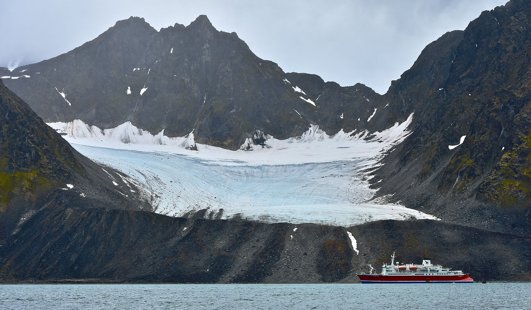 The G Adventures Expedition ship can hold up to 134 passengers (Picture: Sadie Whitelocks)