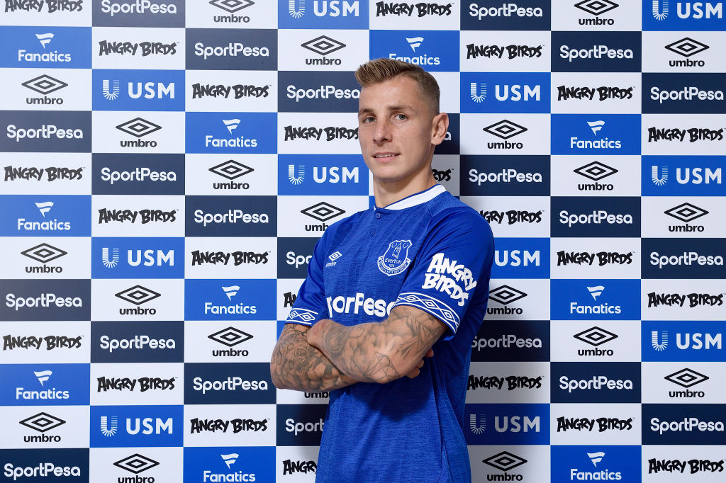 Everton signing Lucas Digne reveals he rejected Liverpool twice amid tattoo row