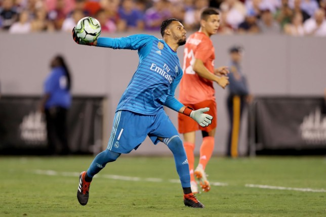 d72347605e3 Real Madrid news  Keylor Navas reacts to Thibaut Courtois signing ...