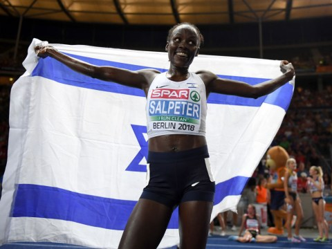 Why is Israel in the European Championships?