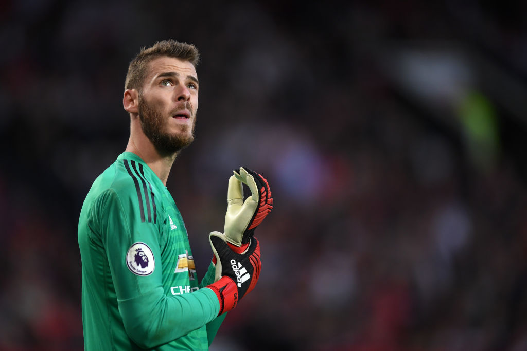 David de Gea unhappy with Manchester United contract offer
