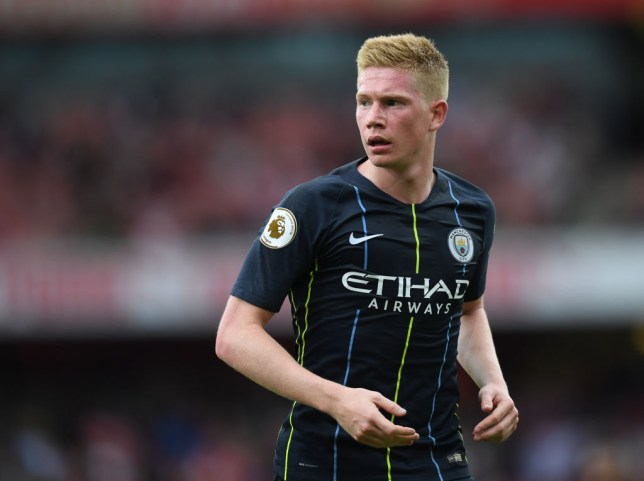competitive price 15a3f a1117 Kevin De Bruyne returns to Manchester City training SIX ...