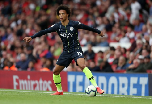 b5aaa7155d9 Leroy Sane has started both of Manchester City s matches this season on the  bench (Picture  Getty)