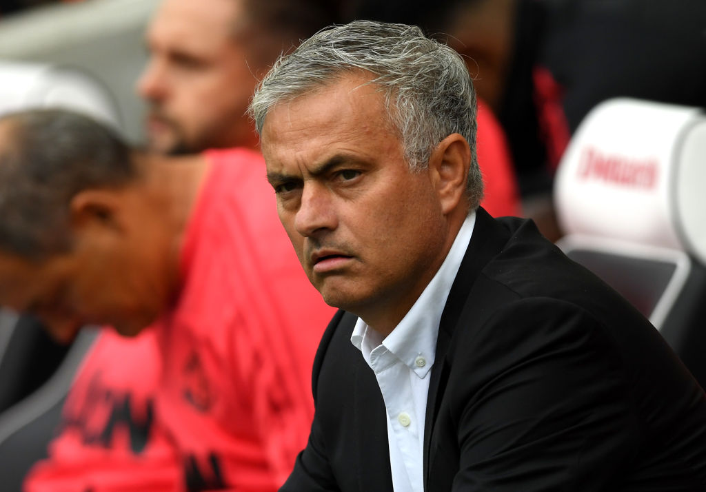 Gary Neville expects Jose Mourinho to play three at the back against Tottenham