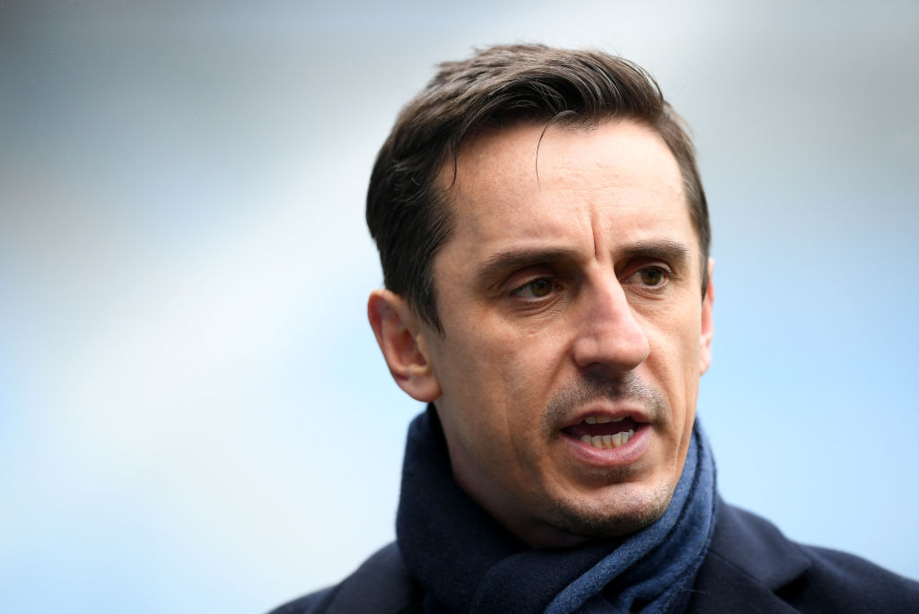 Gary Neville rates Manchester United's chances of winning the title after Brighton defeat