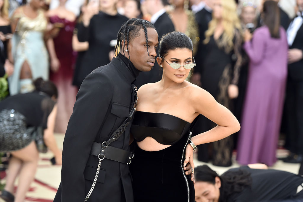 Travis Scott and Kylie Jenner at Met Gala