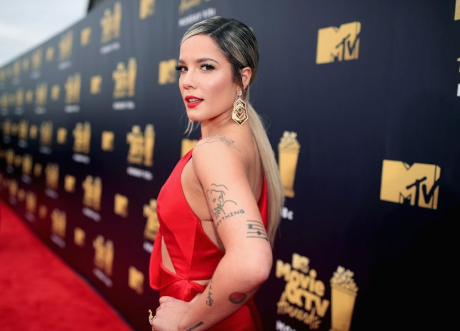 Halsey at MTV Movie Awards