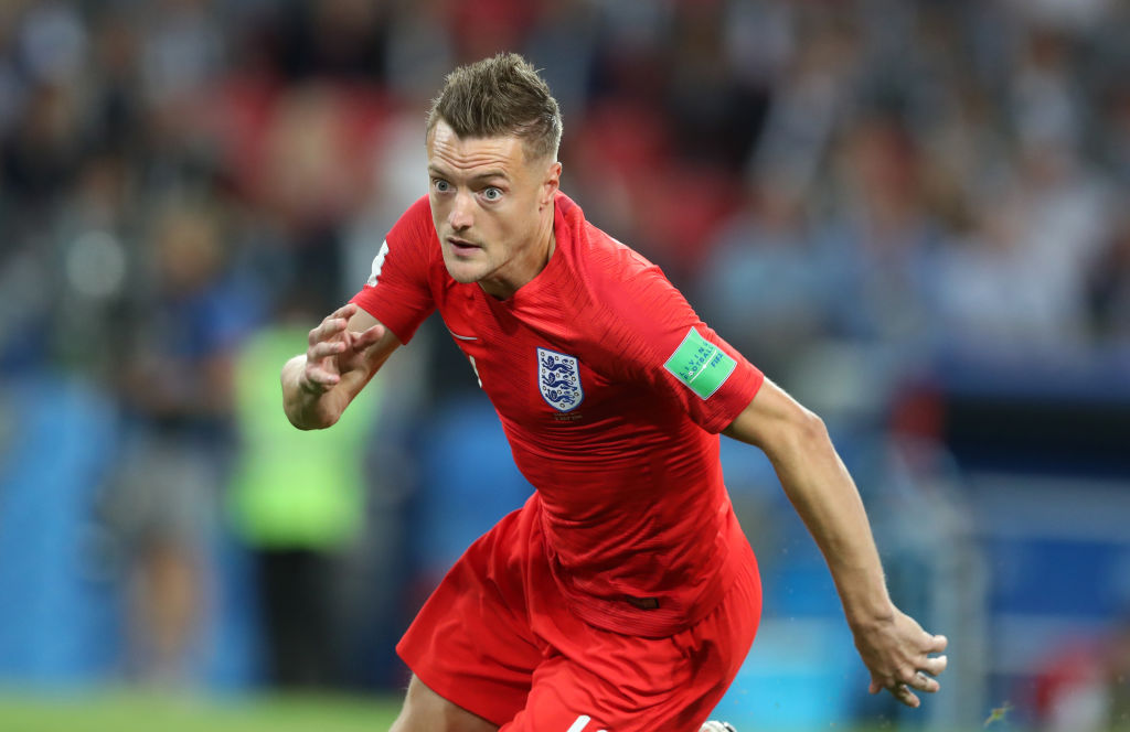 England and Leicester City striker Jamie Vardy confirms shock decision to retire from international football