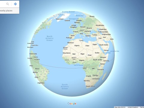 Google Maps has made a big change that's going to anger Flat Earthers