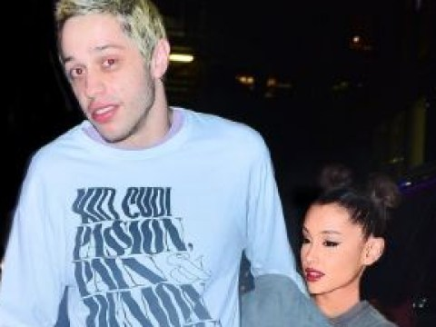 Pete Davidson replaces sex with food as he grabs pizza with Ariana Grande