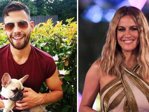 Andrew Brady 'keeps hold of Caroline Flack's dog amid custody battle' as he calls her his 'daughter'