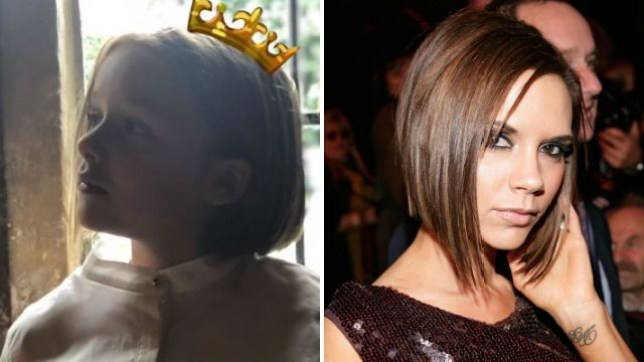 Harper Beckham Channels Posh Spice Pob With Adorable New Haircut