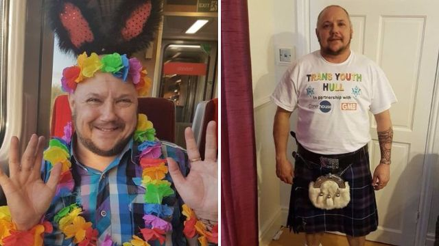 Transgender dad 'upskirted' and asked 'what you got under there?' during Pride celebrations