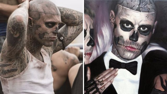 Remembering Rick Genest in Silent Witness and Lady Gaga's Born This Way video