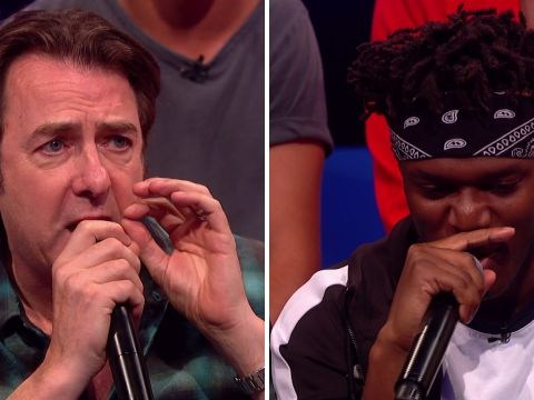 Jonathan Ross upstages KSI in rap battle on Big Narstie Show and it's seriously awkward